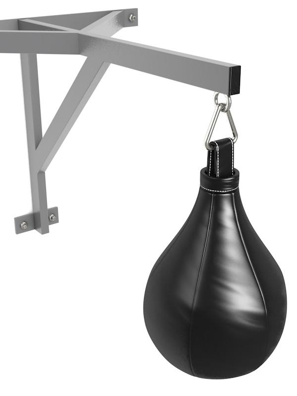 Боксерская груша из кожи, профессиональная Glav 05.100,  - купить со скидкой