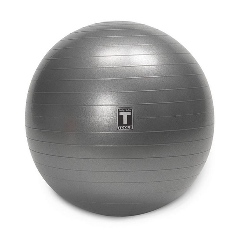 Купить Гимнастический мяч Body Solid BSTSB55 серый, 55см,