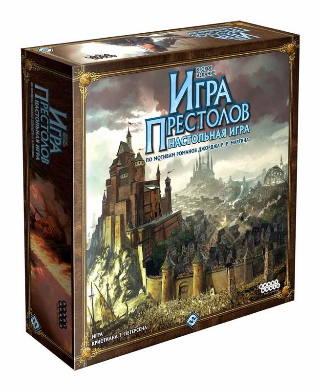 Купить Игра престолов - 2-е издание (новая версия) hw1015, NoBrand, Настольные игры