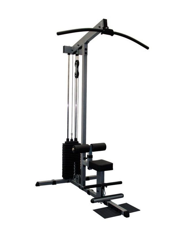Вертикальная/горизонтальная тяга Body-Solid GLM-84SM рукоятка для тяги за голову body solid mb148rg