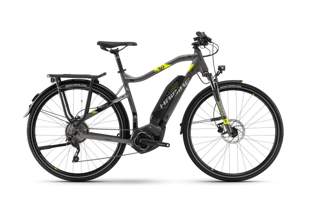 Электровелосипед HaiBike Sduro Trekking 4.0 He 400Wh 10s Deore (2018)