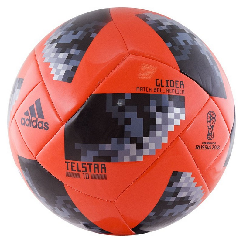 Мяч футбольный Adidas WC2018 Telstar Glider, р.4 CE8098 мяч футбольный р 5 adidas telstar winter omb ce8084