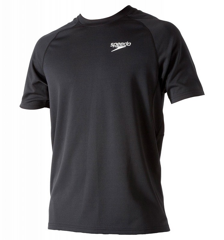 Футболка Speedo Signature Unisex technical T-shirt (060) черная