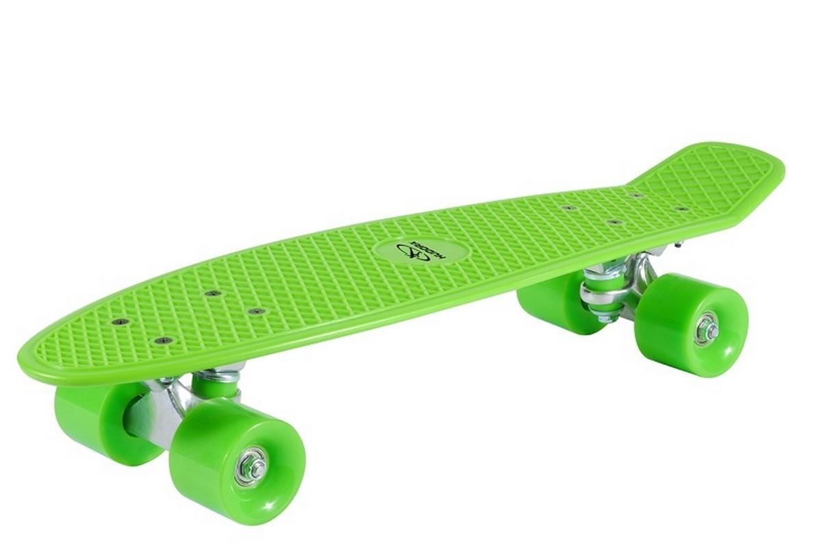Скейтборд Hudora Skateboard Retro Lemon green скейтборд с какого возраста можно начинать