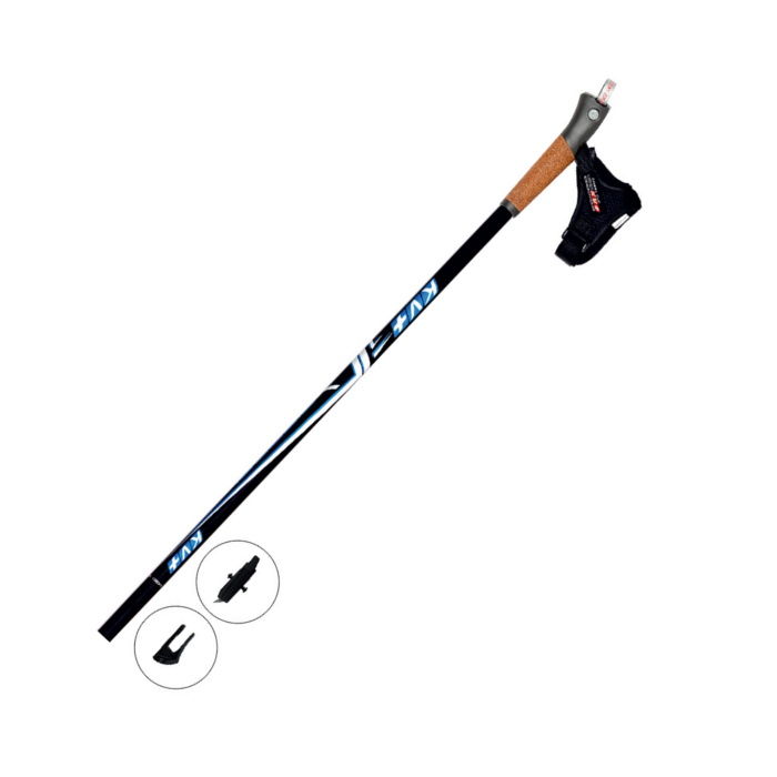 Купить Палки для скандинавской ходьбы KV+ (9W02CO) Mistral Clip max 135 cm,