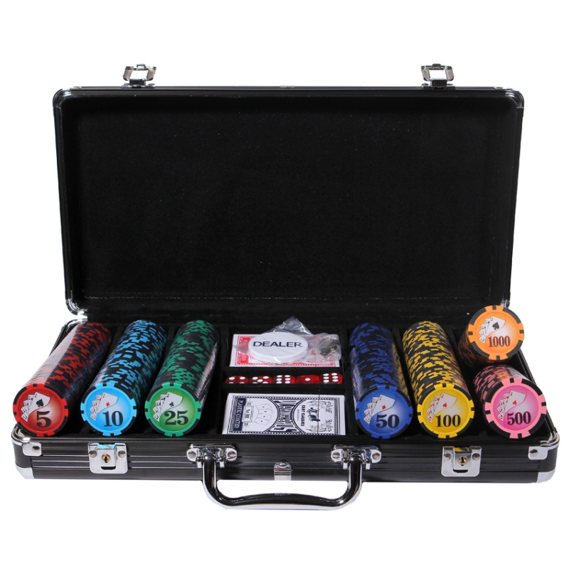 Набор для покера Royal Flush Black 300 набор для покера royal flush black 500