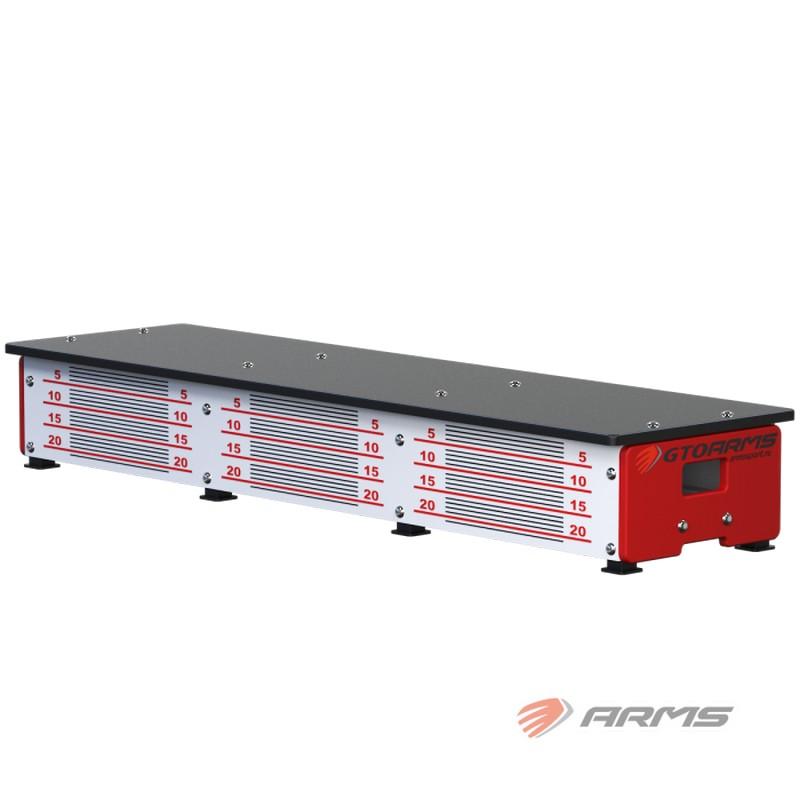 Скамья гимнастическая для измерения гибкости ARMS переносная GTOARMS010