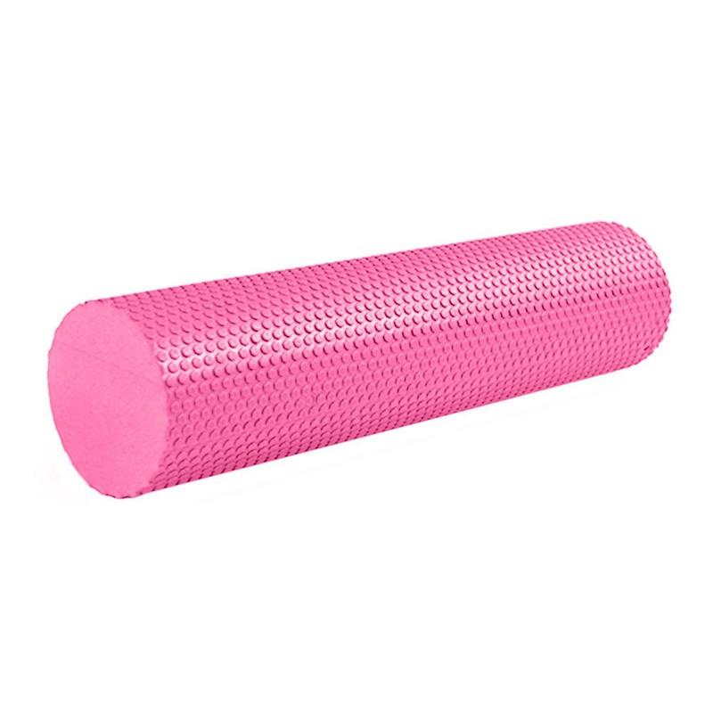 Купить Ролик массажный для йоги 60х15см B31602-2 розовый, NoBrand