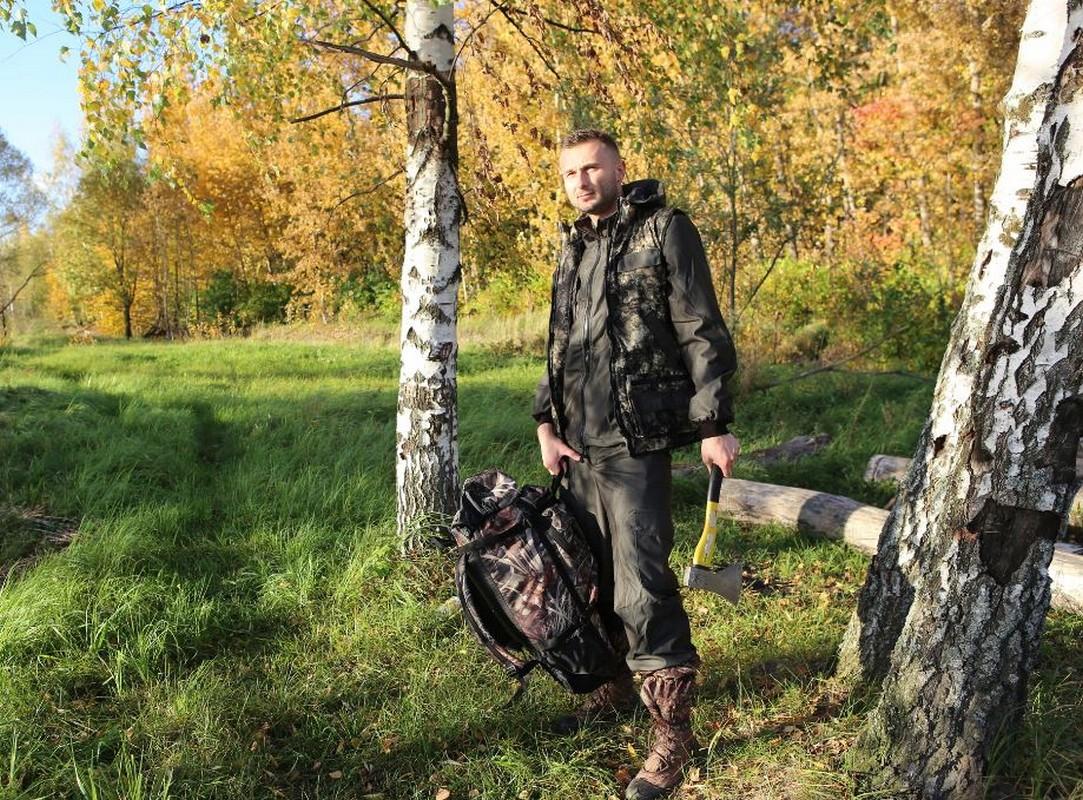 Костюм Huntsman Тайга-3 тк. Алова мужской демисезонный, хаки/MU-1g жилет разгрузочный облегченный цена