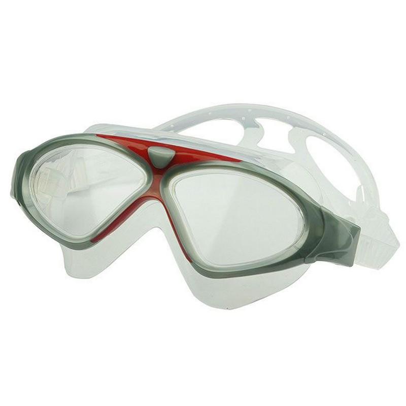 Купить Очки-маска для плавания Anti-fog 8170-2 серебро, NoBrand