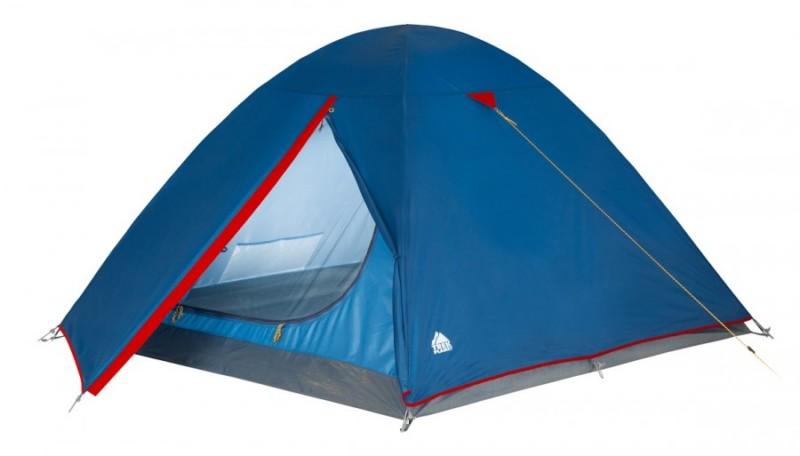 Палатка Trek Planet Dallas 4 (палатка) синий/красный 70105