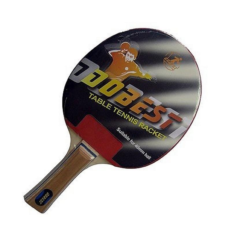 Ракетка для настольного тенниса Dobest BR01 0 звезд ракетка для настольного тенниса torneo tour plustable tennis bat ti b3000