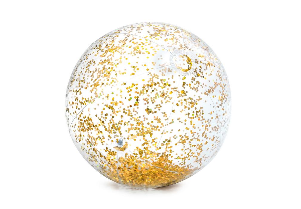Мяч Intex Блестящий D=71 см, 3+