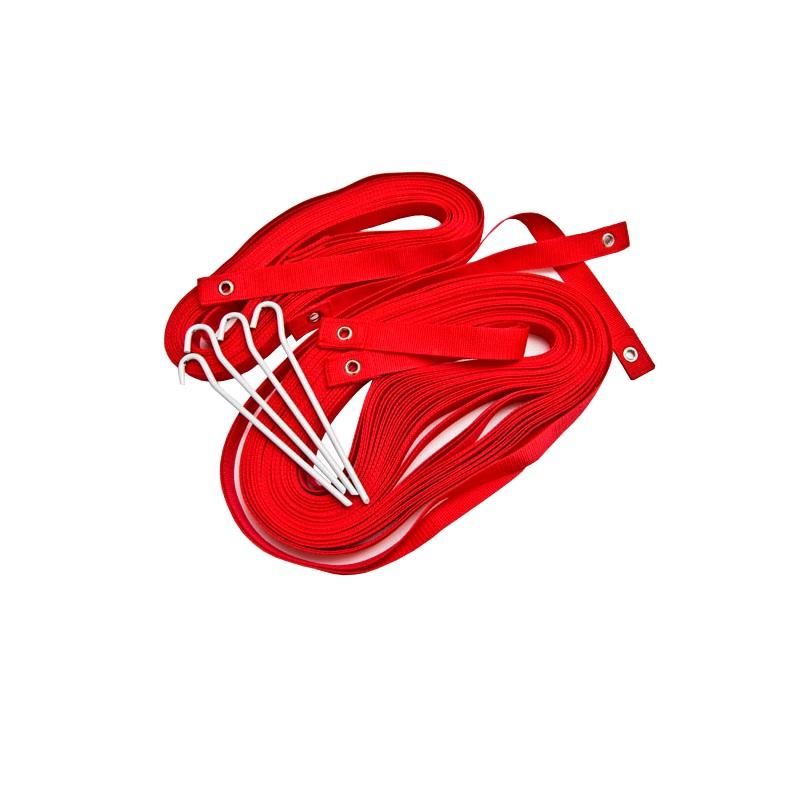 Купить Разметка для пляжного футбола Ellada 37x28м, УТ0332 красная,