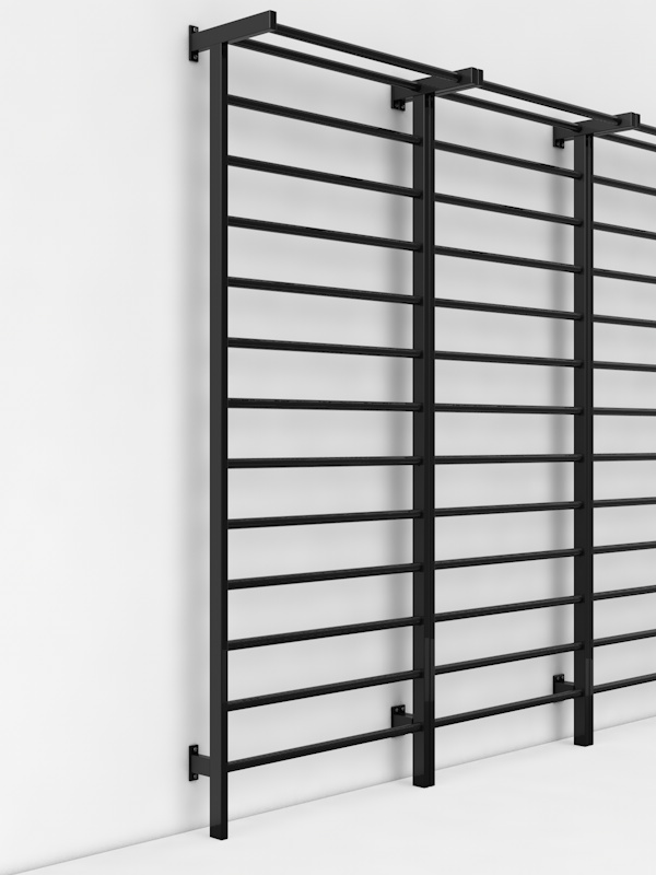 Купить Шведская стенка металлическая Glav размер 3000х1000 мм 04.206.1-3000-1000,