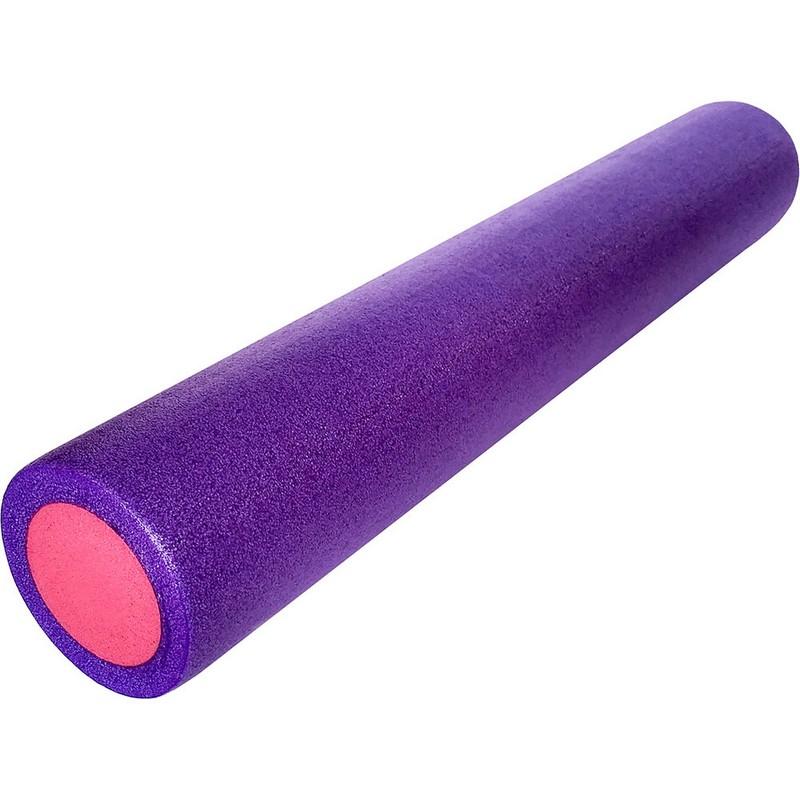 Купить Ролик для йоги полнотелый 91x15cm PEF100-91-9 фиолетовый-розовый, NoBrand