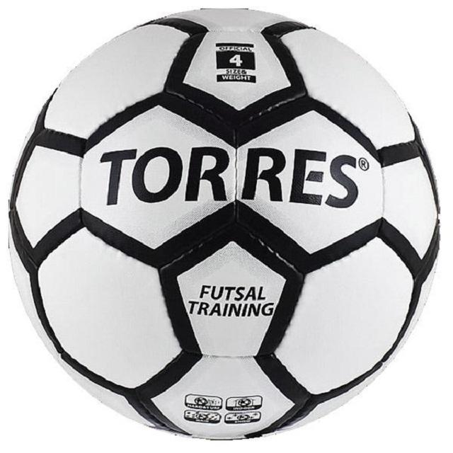 Мяч футзальный р.4 Torres Futsal Training мяч футзальный select futsal talento 11 852616 049 р 3