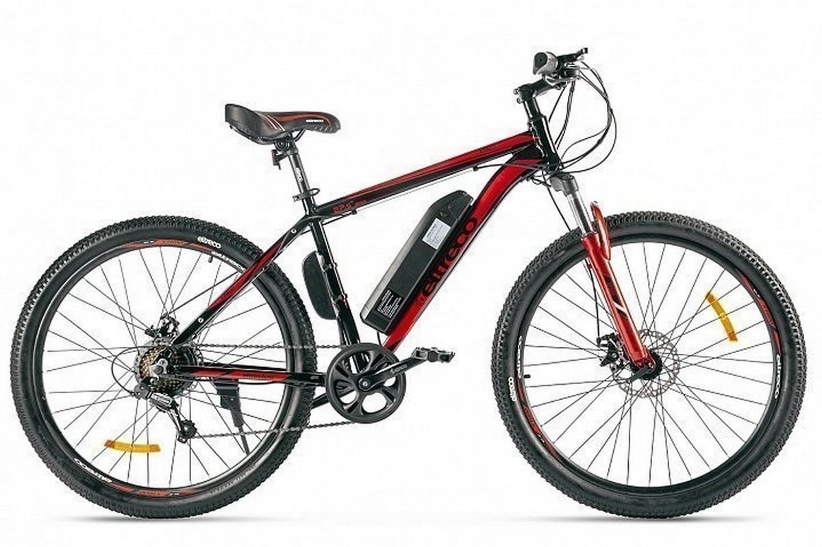 Велогибрид Eltreco XT 600 Limitededition 022665-2370 черно-красный