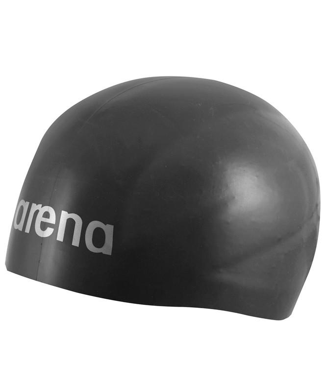 Шапочка для плавания Arena 3D Ultra Black (91656 54 L)