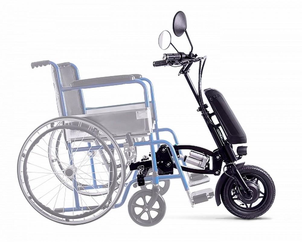 Электрический привод Eltreco Sunny для инвалидной коляски электропривод 011589-0059 черный от Дом Спорта