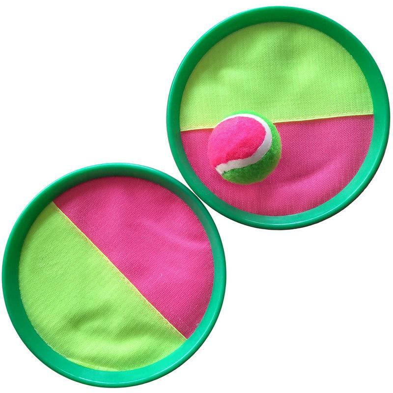 Купить Набор для игры в мяч (2 тарелки-ловушки и мяч) F04553, NoBrand, Игры на свежем воздухе