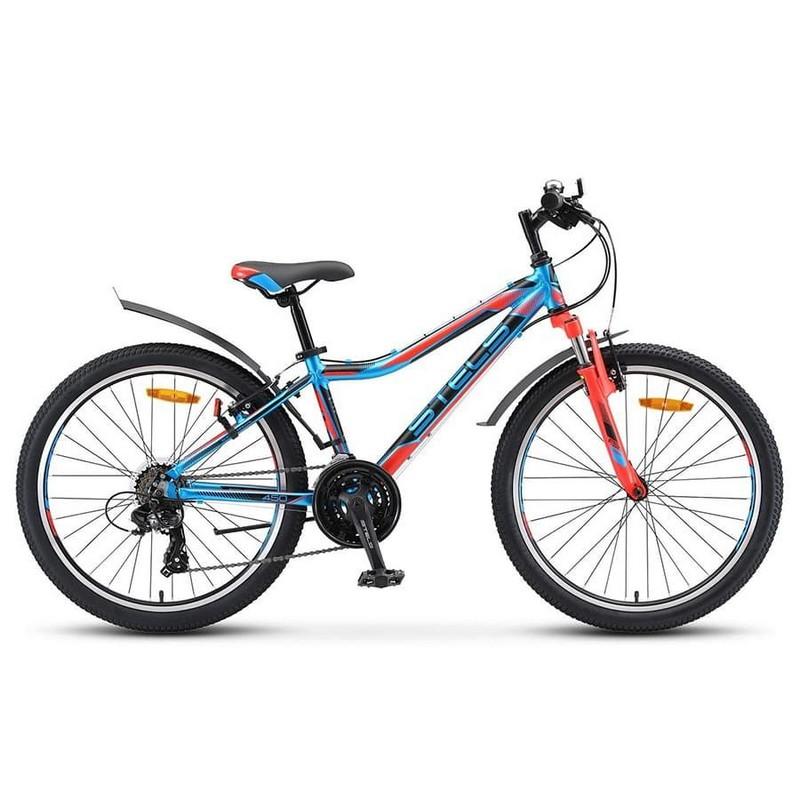 Купить Велосипед Stels Navigator 24 450 V V010 2019 СинийКрасныйЧерный (LU091797),