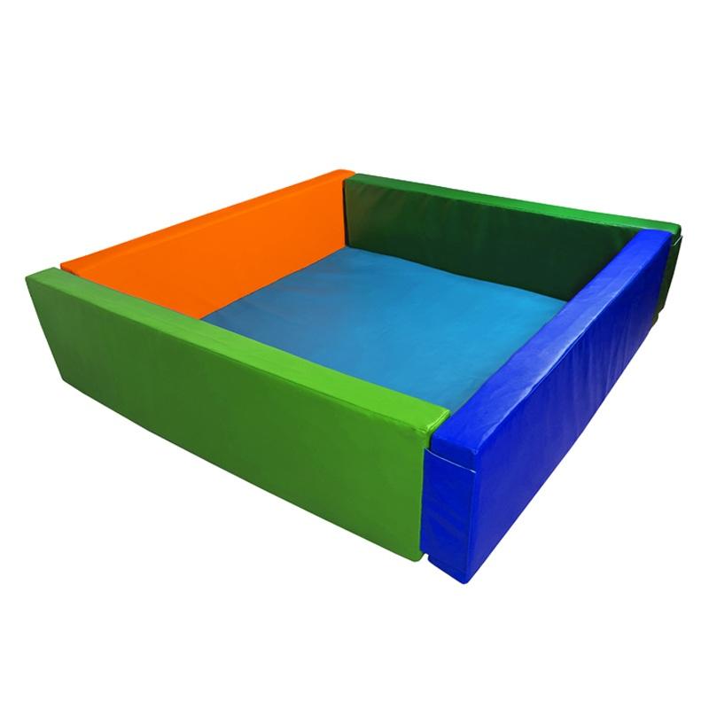 Купить Сухой бассейн квадратный 2000х2000х500х100 мм (наполнитель холлослеп/холлофайбер) Dinamika ZSO-003057, Сухие бассейны
