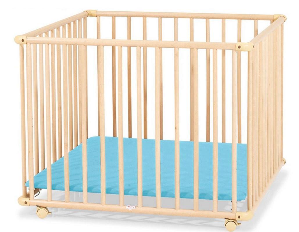 Детский Манеж Kettler 4-x секционный H1046-3402 дно голубое