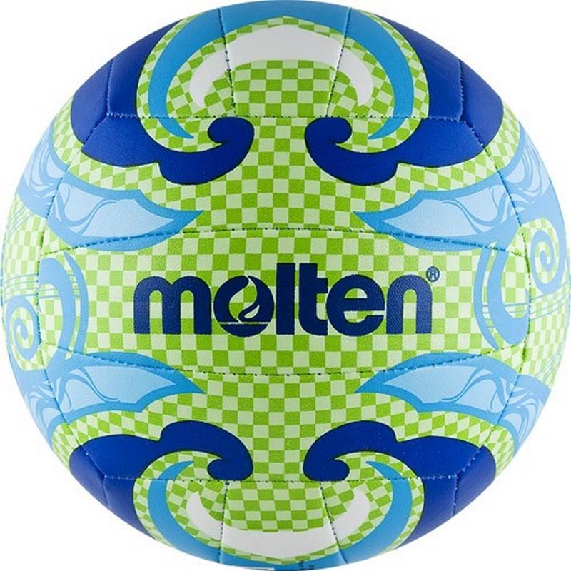 Мяч для пляжного волейбола р.5 Molten V5B1502-L мячи pic n mix мяч массажно игровой большой 18 см