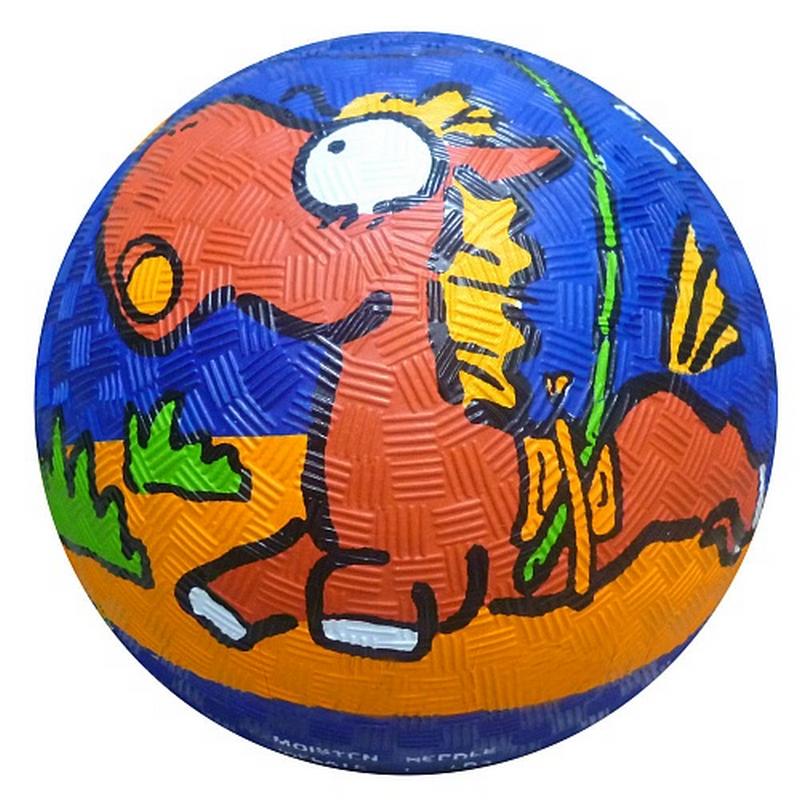 Мяч резиновый ?14см Larsen RGB5006 Лошадь