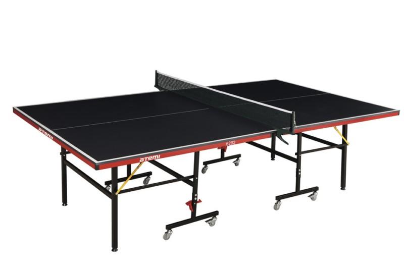 Стол для тенниса, мдф 15мм, 8 колес Atemi AT6202