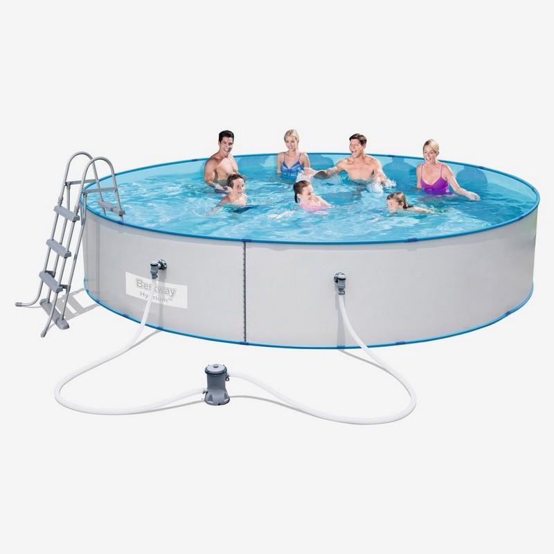 Купить Стальной бассейн Hydrium Splasher Pool Set 460х90 см Bestway 56386,