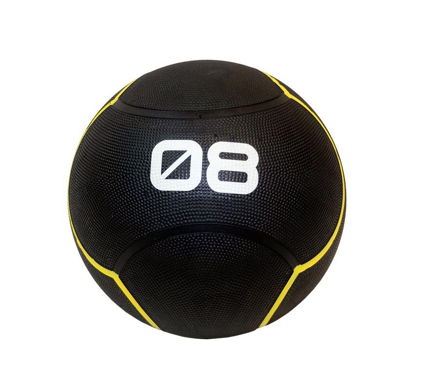 Купить Мяч тренировочный 8 кг Original Fit.Tools FT-UBMB-8 черный,