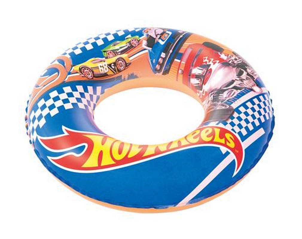 Круг для плавания надувной Bestway Hot Wheels 56см 93401