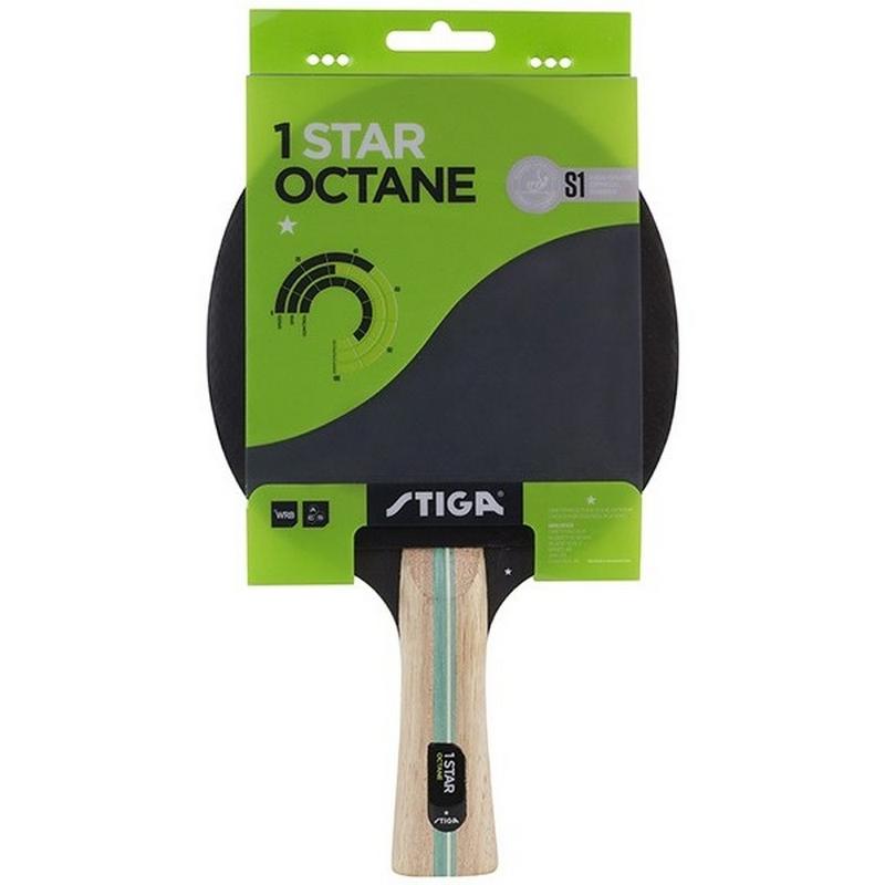 Ракетка для настольного тенниса Stiga Octane 1* 1211-3216-01 ракетка для настольного тенниса stiga trinity