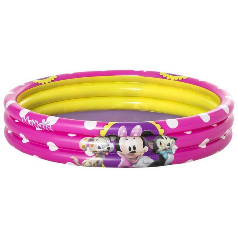 Купить Детский надувной бассейн Bestway Minnie 122x25 см 91079,