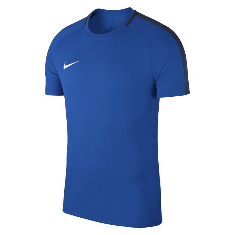 Футболка мужская Nike Dry Acdmy18 Top Ss 893693-463 тренировочная, синяя