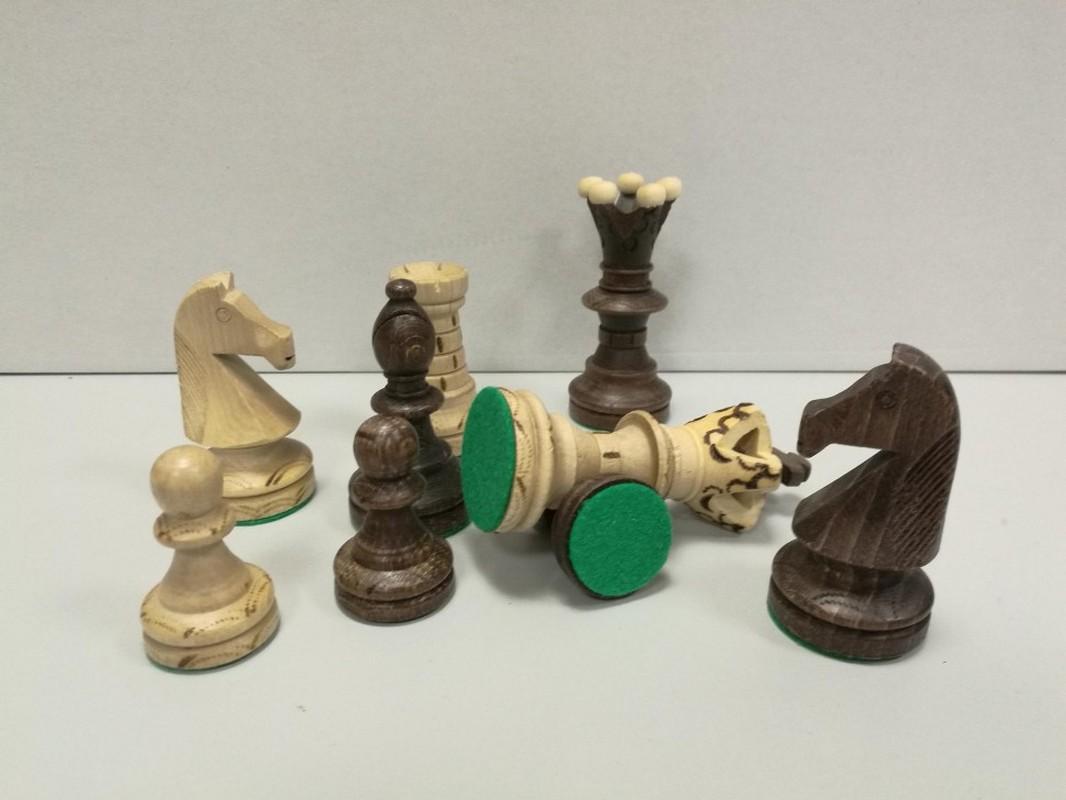 Купить Шахматные фигуры Амбассадор в картонной коробке ШФ 20, NoBrand