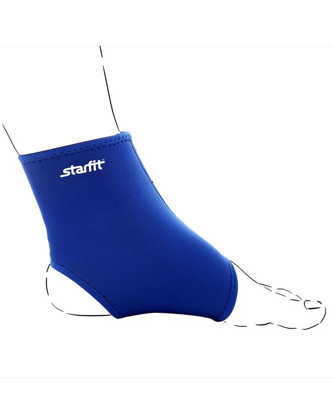 Суппорт голеностопа Star Fit SU-401, синий