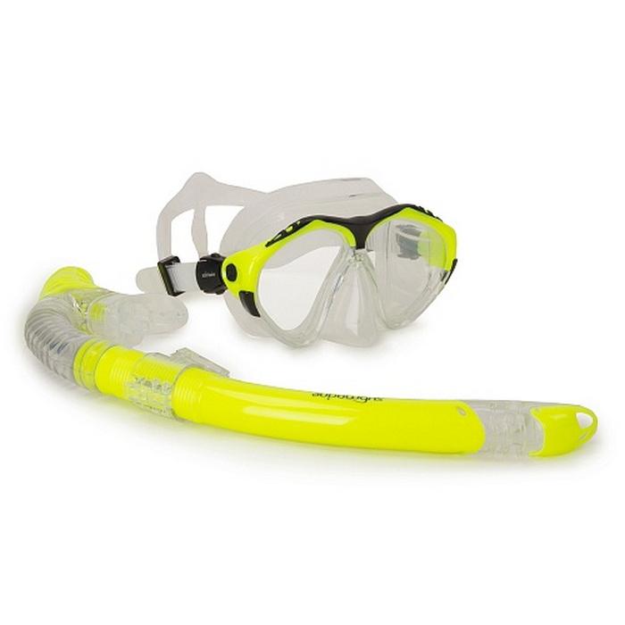 Купить Набор (маска+трубка) Submarine Shark50 (M209+SN153S) Желтый,