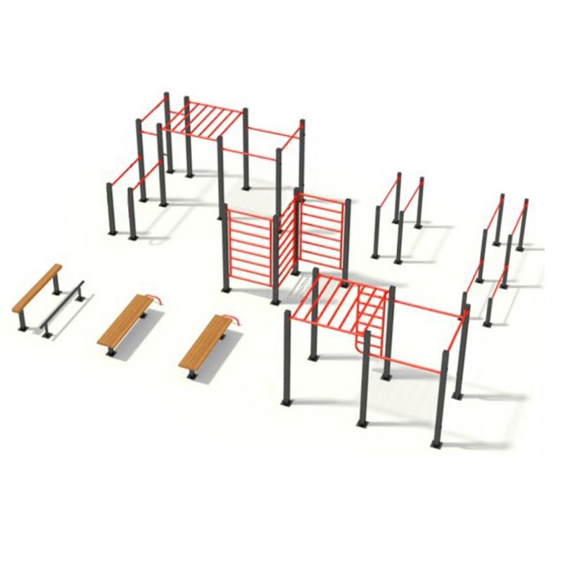 Купить Площадка для воркаута в спорт-комплекс Dinamika ZSO-002793,