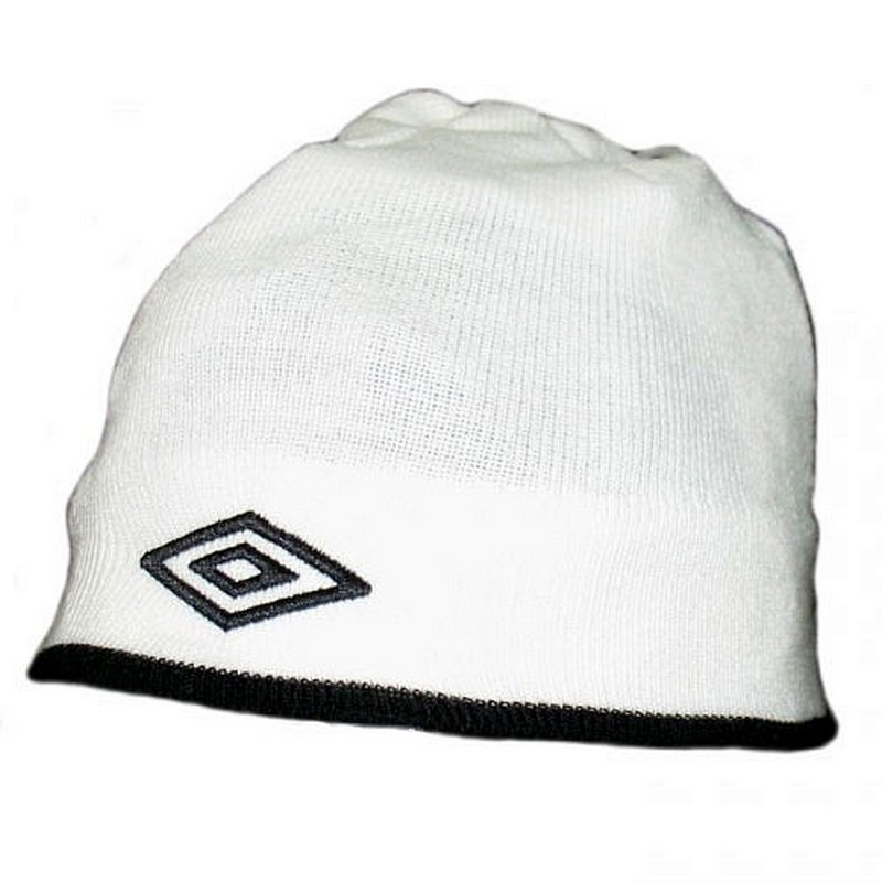 Шапочка Umbro Training beanie 565509 (016) бел/чер.