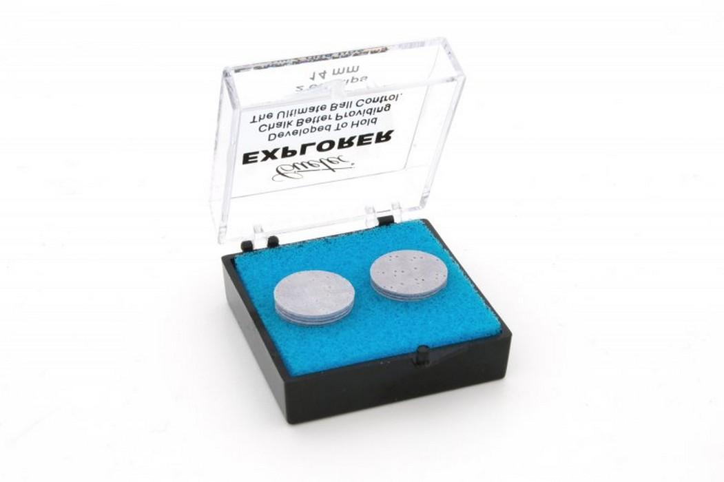 Наклейка для кия Cuetec Explorer, KL2 (M) 14 мм (2 шт) 45.137.00.0