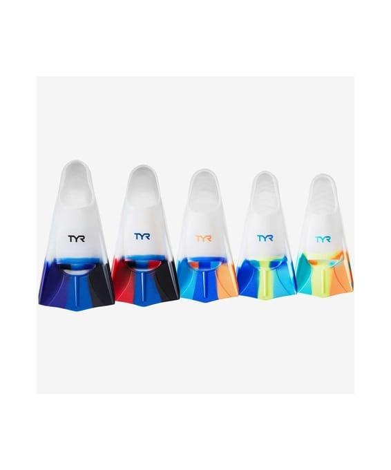 Купить Ласты TYR Stryker Silicone Fin, LFSTRKR/101, мультиколор,