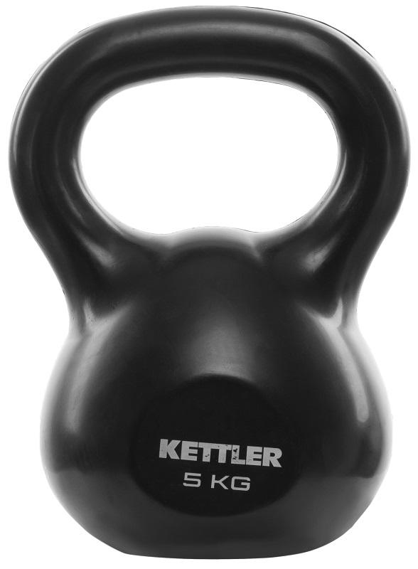 Гиря 5 кг черная Kettler 7370-075