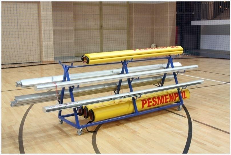 Тележка для волейбольных стоек Pesmenpol на 3 пары