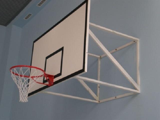 Щит баскетбольный игровой 1500х1000мм (фанера 12мм) на раме Спортивные Технологии st0010260 от Дом Спорта