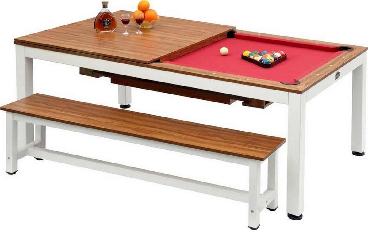 Купить Стол для пула Weekend Evolution High Tech 7 ф со столешницей и аксессуары + сукно орех, Billiard Company