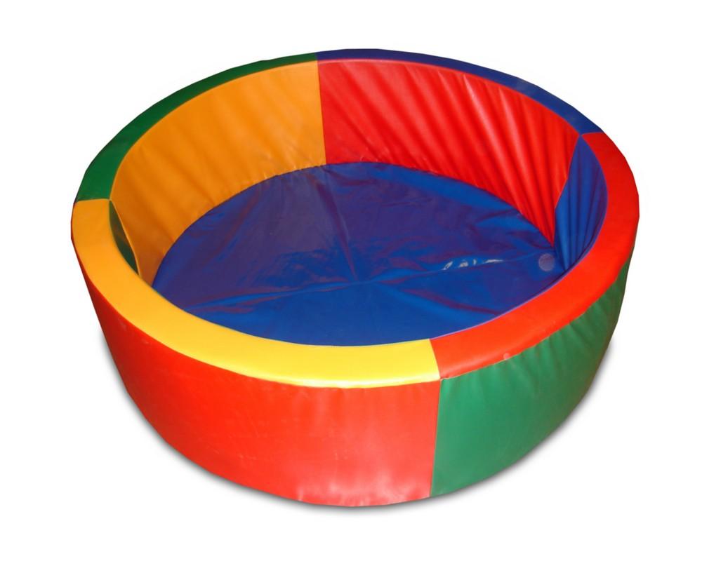 Купить Сухой бассейн круглый рассчитан на 500 шариков ФСИ 6598,