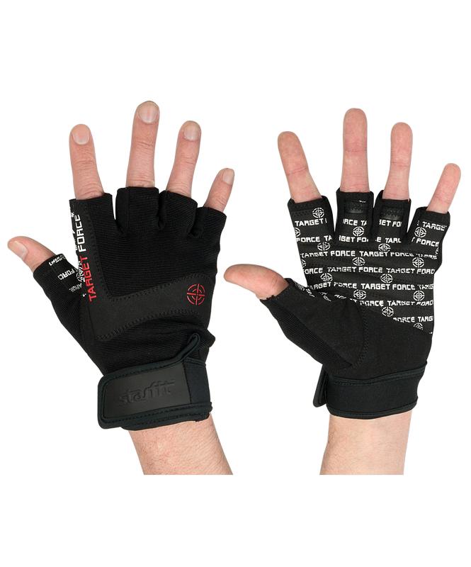 Перчатки для фитнеса Star Fit SU-118, черный